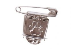 Dog Show Ring Number Clip Pin Keep Calm And Carry On Dog Showing Red